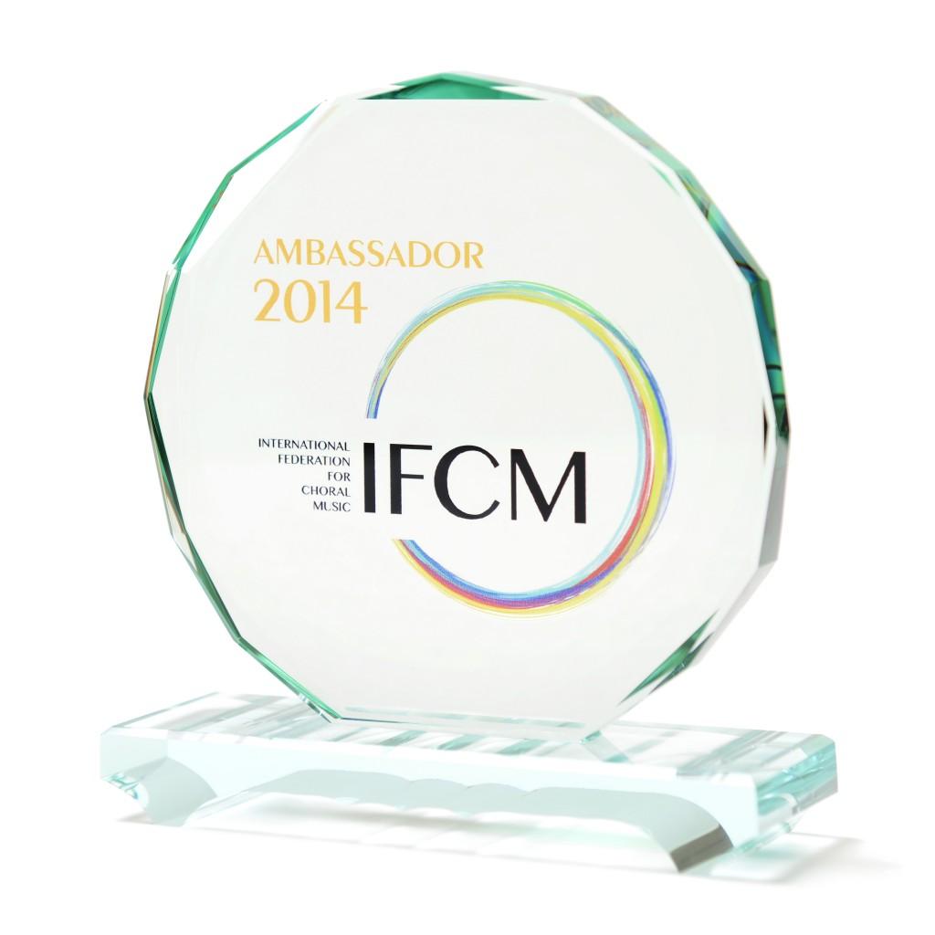 Sofia Vokalensemble - IFCM Ambassador 2014
