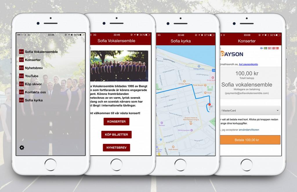 Ladda ner Sofia Vokalensembles app till iPhone